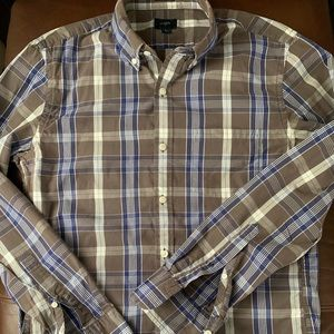J. Crew Slim Fit Washed Button Down